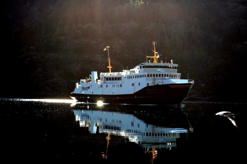 Moje volba: Trajektová linka v Sognefjordu
