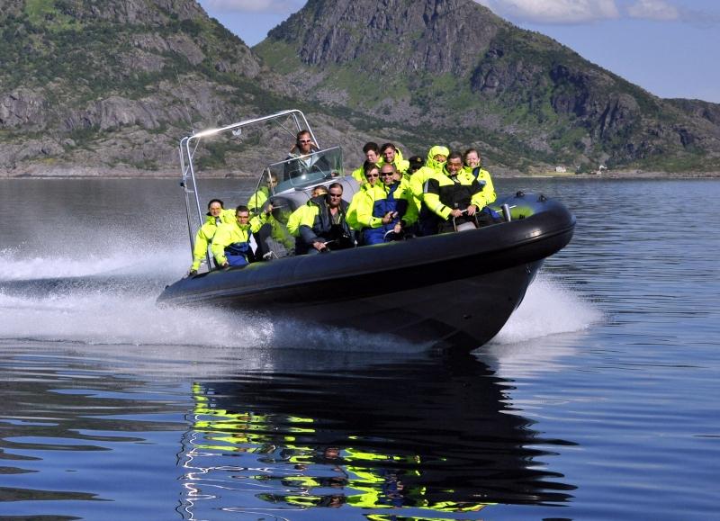 Moje volba: Vyjížďka na rychlém člunu v okolí Stavangeru