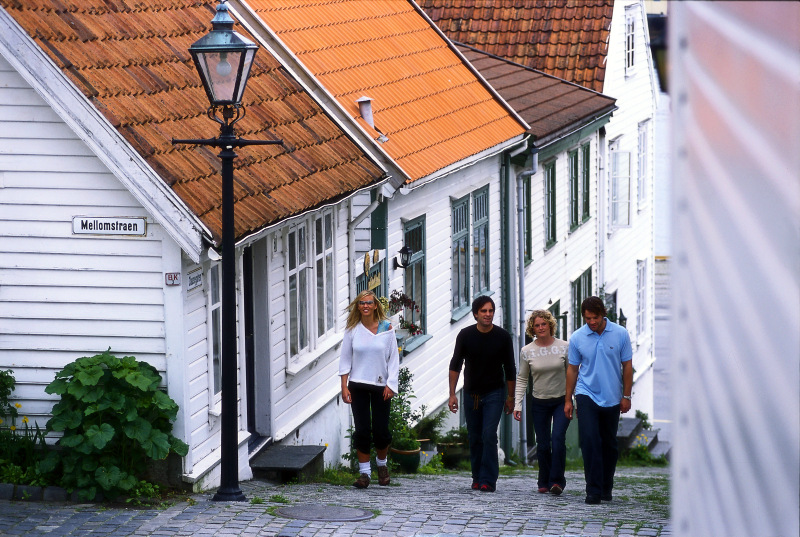 Moje volba: V uličkách starého města ve Stavangeru
