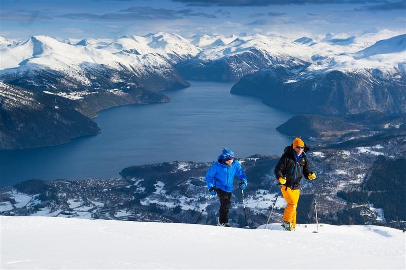 Moje volba: Lyžaři v pohoří Strandafjelet