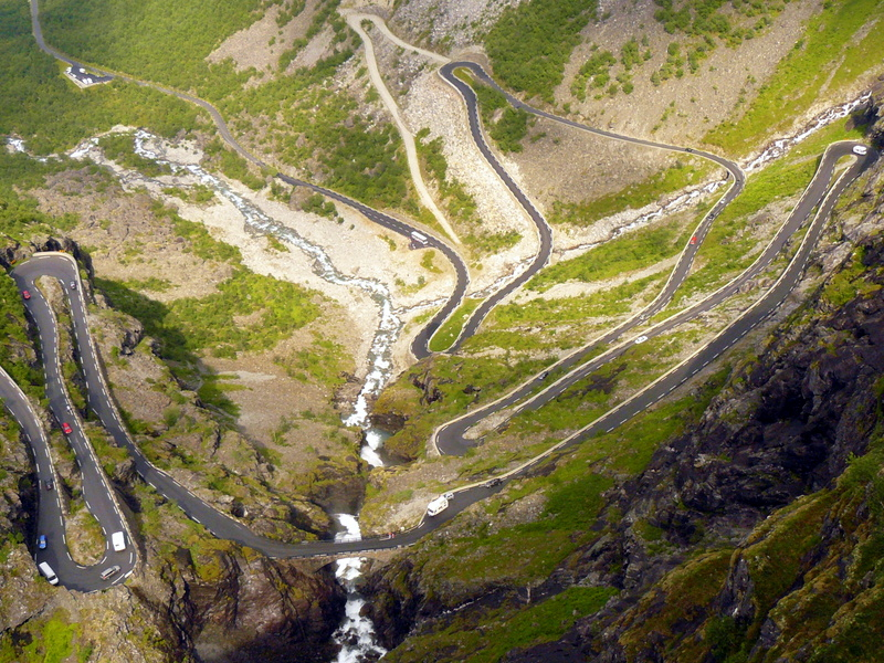 Moje volba: Zatáčky Trolí stezky v údolí Isterdalen