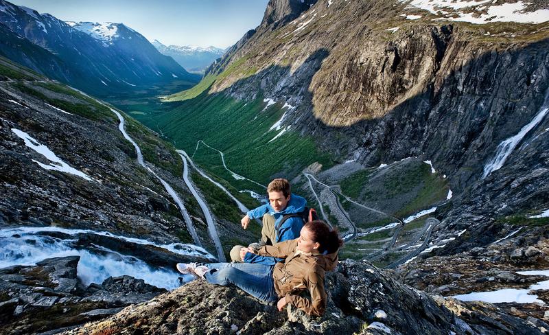 Moje volba: Trollstigen - slavná Trolí cesta