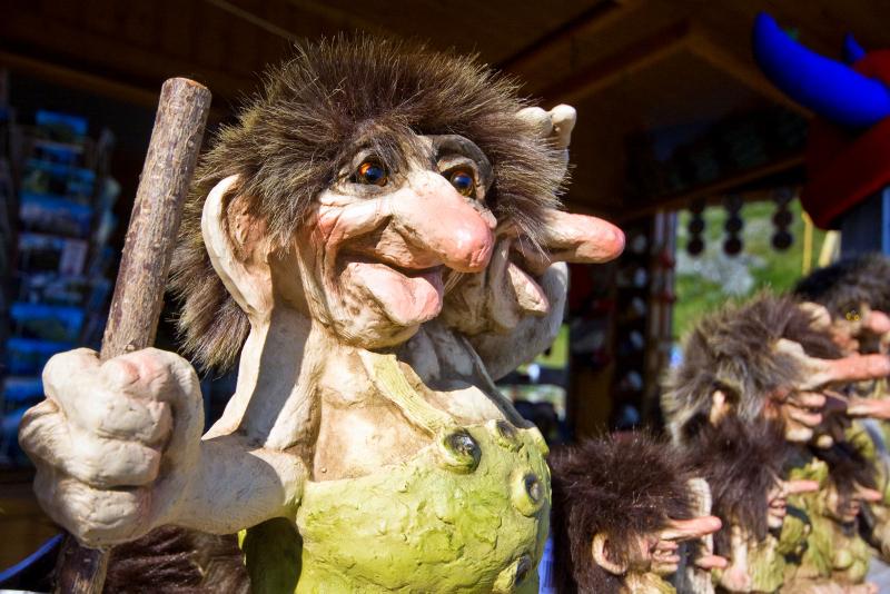 Moje volba: Norský trol