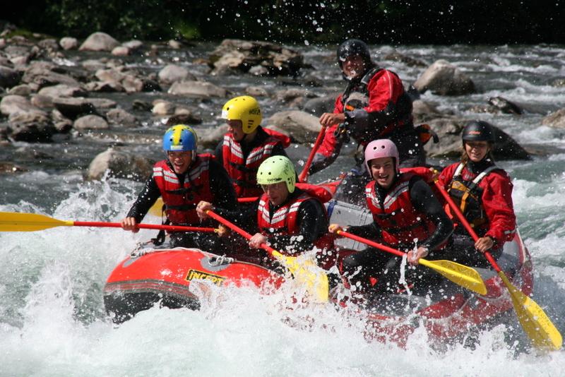 Moje volba: Rafting v údolí Valldalen