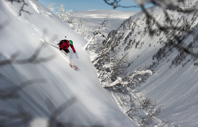 Freeride v okol� Myrdalen (98 body)